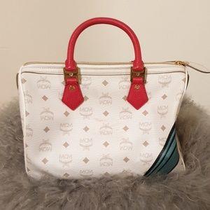 MCM Bags - MCM boston satchel